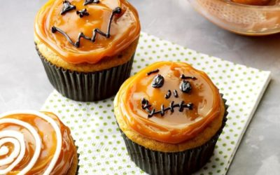 Recipe of the Month – Pumpkin Caramel Cupcakes